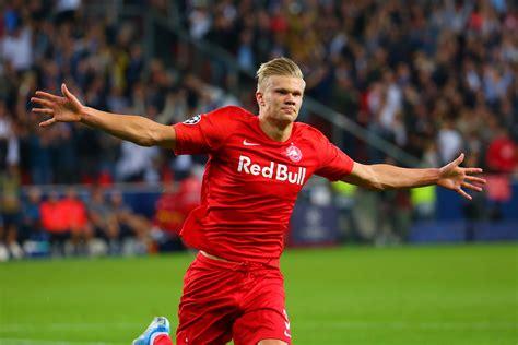 erling haaland english born champions league sensation