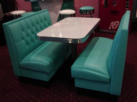 Kitchen Booth Furniture Diner Booth Sets 50 S Retro Home Restaurant Kitchen Corner Kitchen