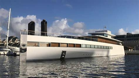 sport fishing boat jobs steve jobs mega yacht venus in san diego by ian van tuyl