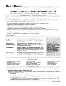 Organizational Development Officer Sle Resume by F Hagerty Od Director Resume