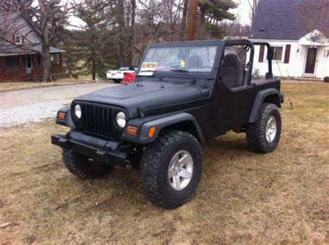 New Jeep Wrangler Sport X 3 0 At purchase used 2002 jeep wrangler x sport utility 2 door 4