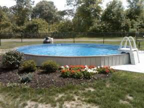 semi in ground swimming pools