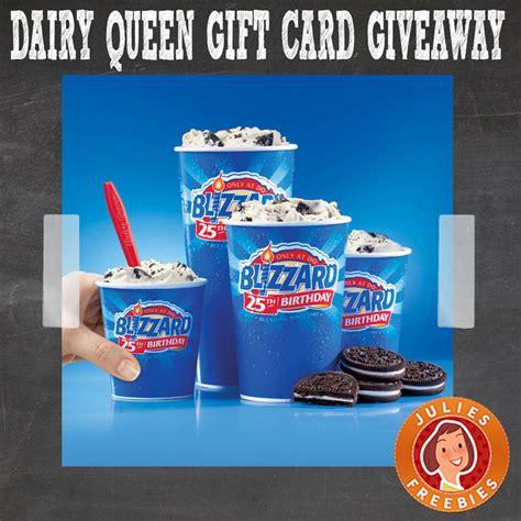 Dairy Queen Gift Card - dairy queen instant win game julie s freebies
