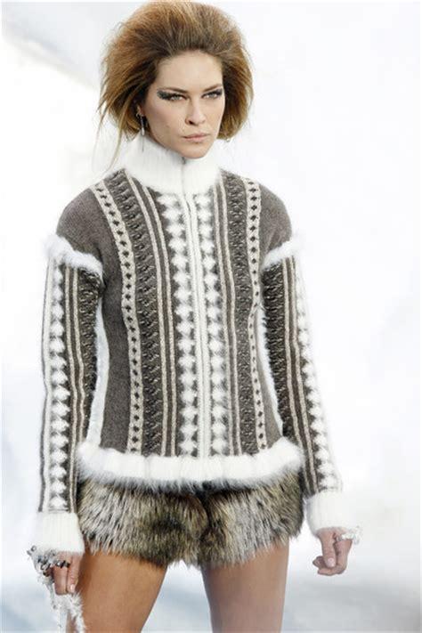 Pieter Sweater Rajut catwalktrend fw2010 winter knitwear team stigter
