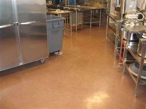 epoxy flooring kitchen epoxy floors for commercial kitchens cafeteria cny creative coatings