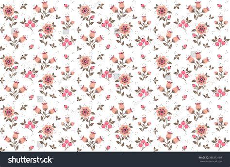 cute little pattern cute pattern small flower small pink stock vector