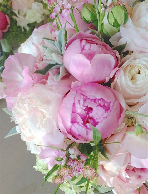 peas and peonies sweet pea and peony bouquet www imgkid com the image