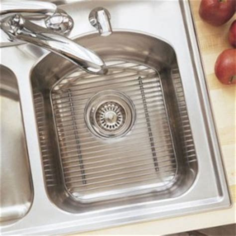 elkay sink rack stainless steel rack it up why to wash and air instead of
