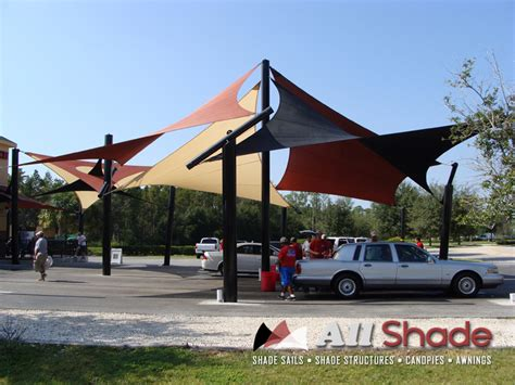 shade sails awnings canopies carwash shade structure shade sail canopy awning 4