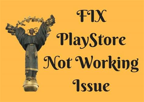 Play Store Is Not Working Fix Playstore Not Working Issue Apk Needs