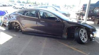 Broken Struts On Car Contrary To Musk S Suggestion Nhtsa Did Not Call Tesla