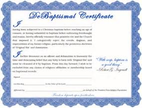 baptism certificate template word baptism certificate template word