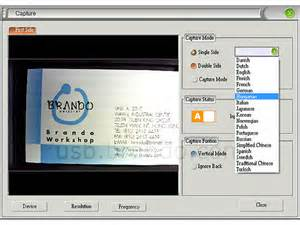 scan business cards to outlook contacts usb business card color scanner