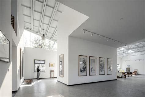 Curtain Design Ideas art studio of xu hongquan office project archdaily