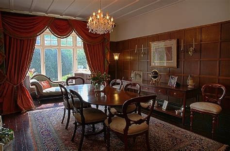 Edwardian Dining Room by Panelled Dining Room In An Edwardian Detached House