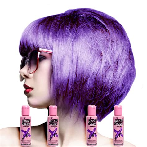 permanent purple hair color color semi permanent purple colour hair dye 4