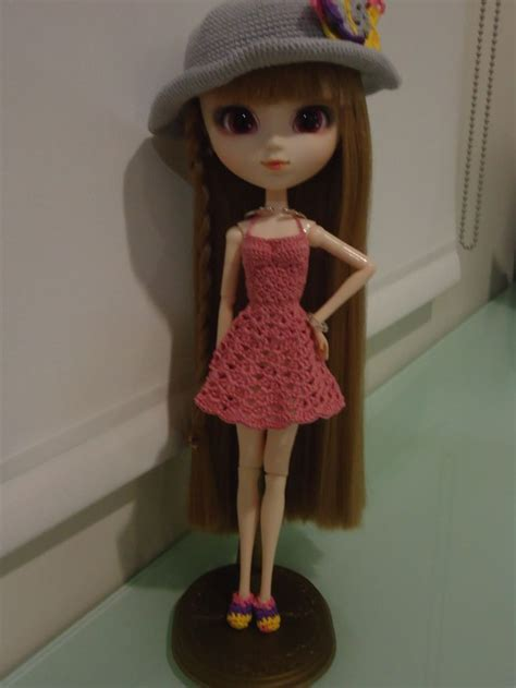 pattern pullip clothes pullip backless sundress free crochet pattern free