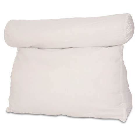 white bed rest pillow relax in bed pillow plain white best lounger support