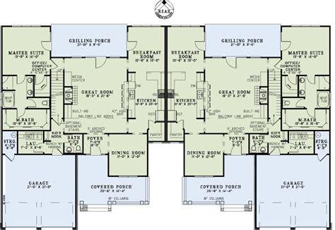 multi family house floor plans