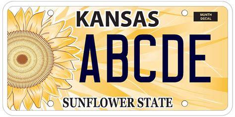Kansas Vanity Plate motor vehicle sherman county