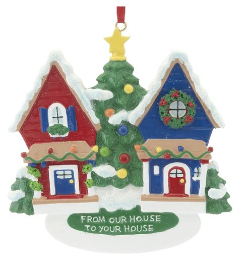 from our house to your house christmas ornament home