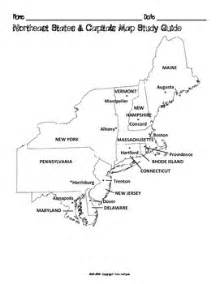 map of northeast united states with capitals free us northeast region states capitals maps by