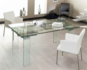 table en verre 240 cm