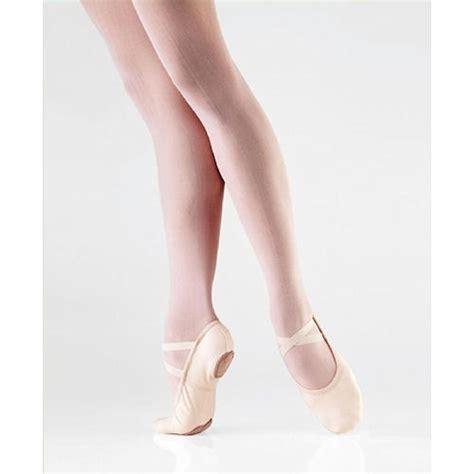canvas ballet slippers so danca sd16 light pink split sole canvas ballet shoe