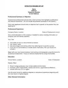 How Do You Set Up A Resume by How To Set Up Resume Template How To Set Up A Resume How To Create A Most Recruiters Prefer A
