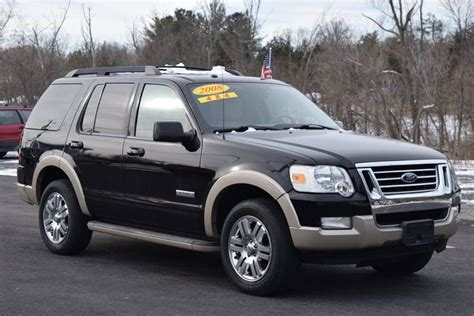 Ford Explorer 2008 by 2008 Ford Explorer Eddie Bauer In Hudson Ny Greenport Auto