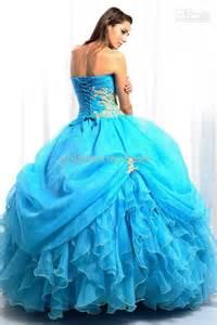 aqua prom dresses prom ball gown quinceanera dress