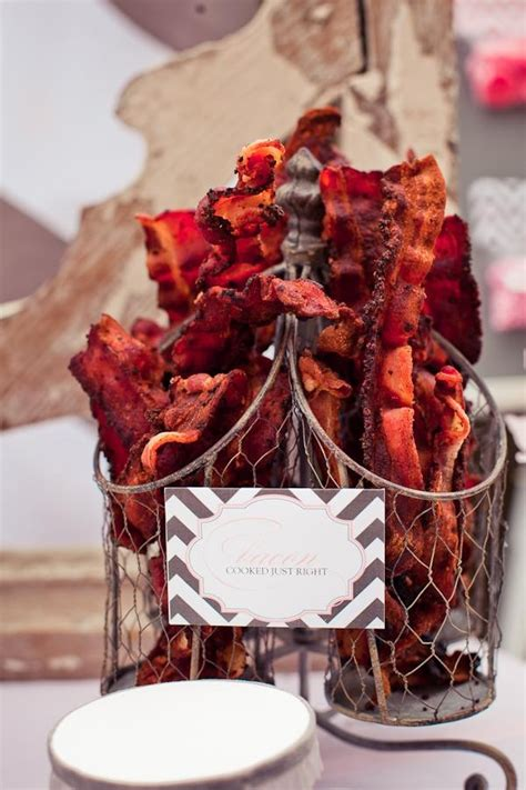 bacon themed decorations 33 best bacon themed wedding images on themed