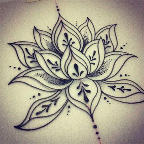 henna lotus flower tattoo simple lotus design favorites lotus