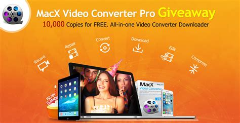 Video Converter Giveaway - macxdvd celebrates 7th anniversary with video converter software giveaway
