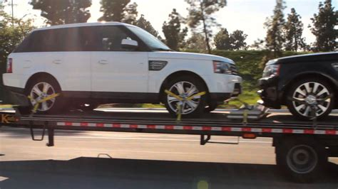 car shipping open trailer auto transport service