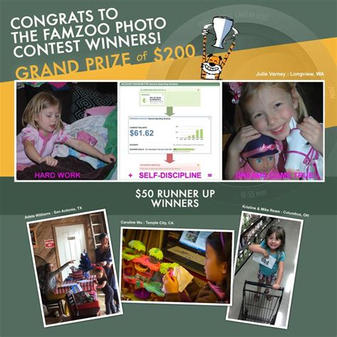 Facebook Money Giveaway - 10 best images about the famzoo good money habits photo contest 1 on pinterest