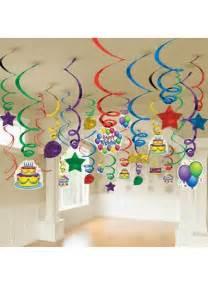 50 spirales anniversaire 224 suspendre d 233 coration