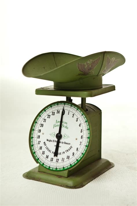 Vintage Kitchen Scales by Vintage Kitchen Scale W Scoop American Family By Tulanevintage