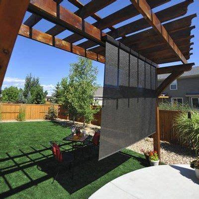 exterior solar shades blinds