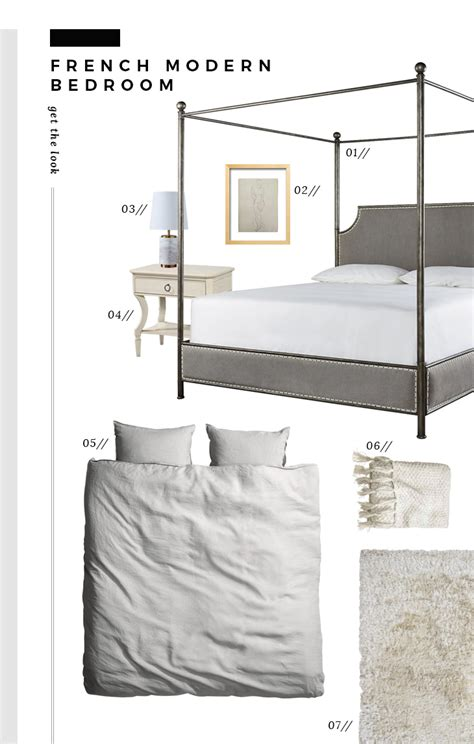 bedroom objects in french get the look modern french apartment room for tuesday