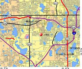 florida zip code map orlando image gallery orlando zip code map
