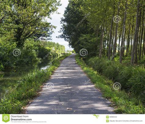 milan to pavia canal of bereguardo imilan stock photo image 60989442