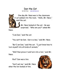 Free stories for the beginning reader