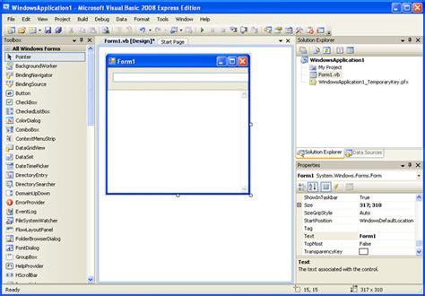 No Basic by Microsoft Visual Basic