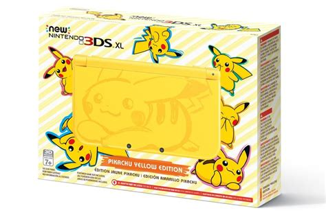 Pikachu Yellow Headed Our Way by New Nintendo 3ds Xl Pikachu Yellow Edition Heading