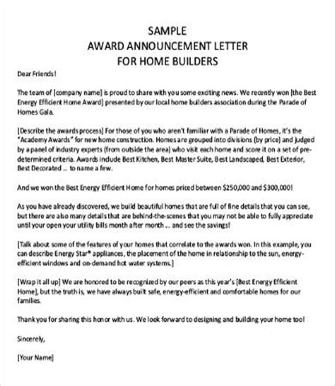 Business Letter Sle Announcement Announcement Letters 9 Free Word Pdf Documents Free Premium Templates