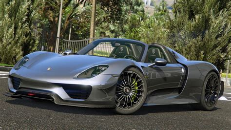 Porsche 918s by 2015 Porsche 918 Spyder Weissach Kit Add On Gta5