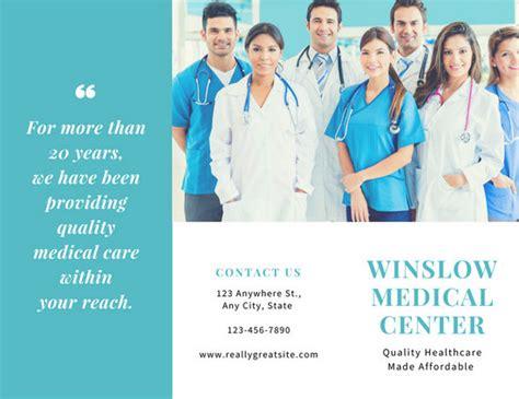 Medical Assistant Brochure Medical Brochure Template Wowcircletk Templates Assistant Brochure Templates