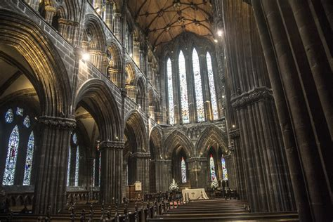 Cathedral Interior by Interior Of The Glasgow Cathedral Free Stock Photo Domain Pictures