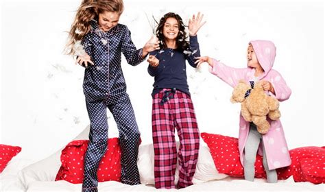 hm kids winter  pajama party collection stylish eve